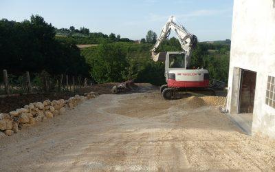 Entreprise de terrassement d molition laurent larrieu - Assainissement bordeaux ...